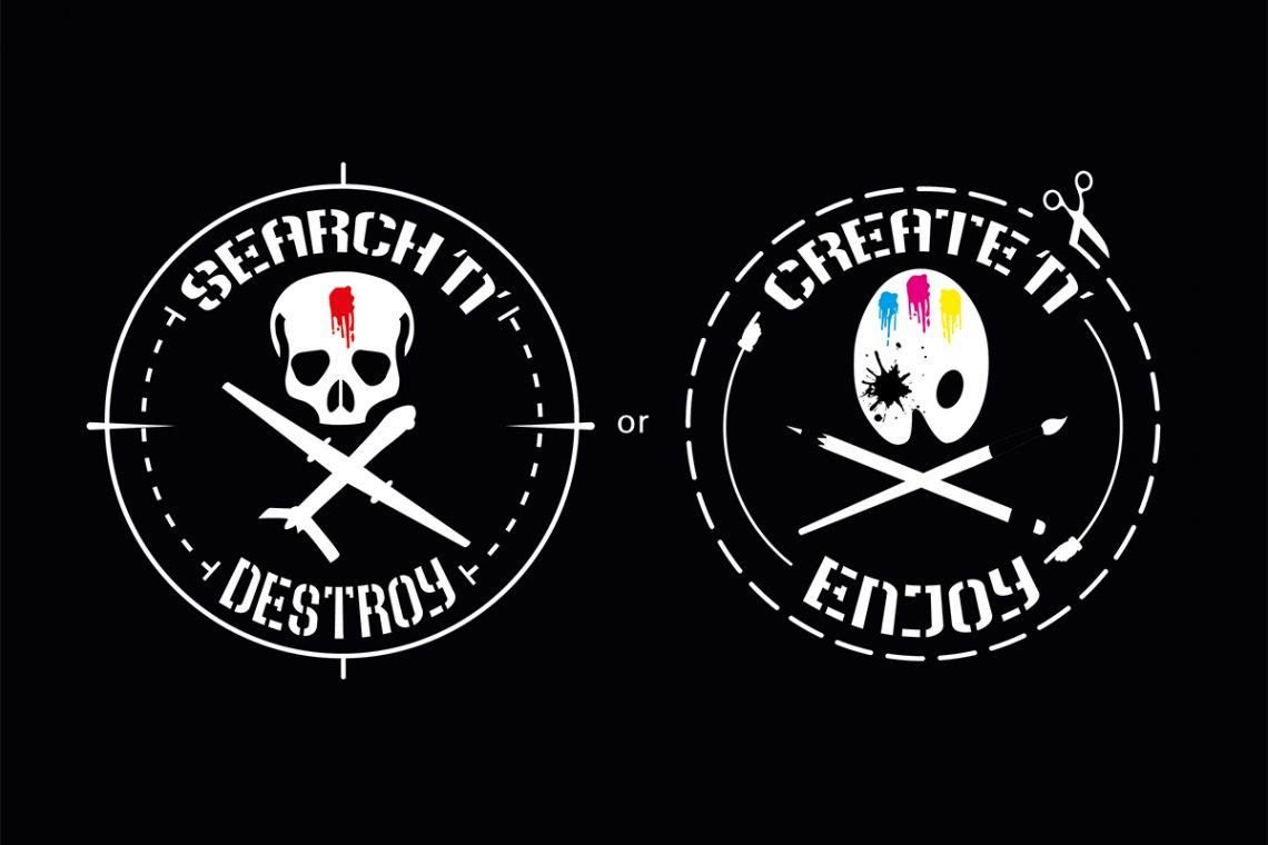 Search N' Destroy or Create N' Enjoy