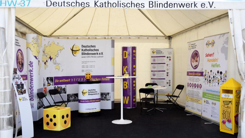 DKBW – Katholikentag Münster – Messeauftritt